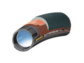 "CONTINENTAL Sprinter GatorSkin 28"" x 22mm Black / DuraSkin Tubular"