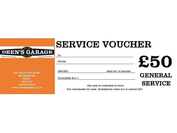 DEENS GENERAL SERVICE VOUCHER click to zoom image