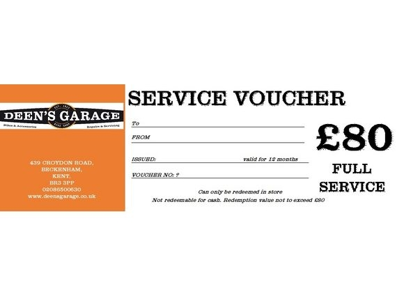 DEENS FULL SERVICE VOUCHER click to zoom image