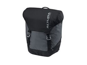 Altura Dryline 2 32l Panniers (pair): Grey/black 32 Litre