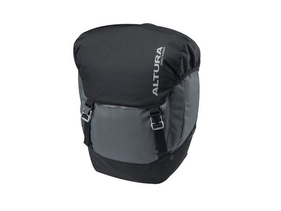 Altura Dryline 2 56l Panniers (pair): Grey/black 56 Litre click to zoom image