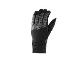Altura Nightvision 4 Windproof Glove 2018: Black/hi-viz Yellow
