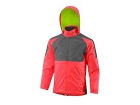 Altura Kids Nightvision 3 Waterproof Jacket 2017: Hi-viz Pink