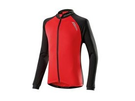 Altura Kids Sprint Long Sleeve Jersey 2016: Red/black