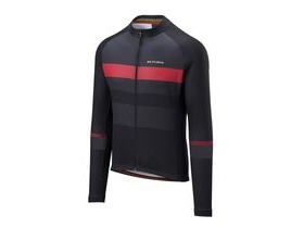 Altura Airstream Long Sleeve Jersey 2018: Black/charcoal