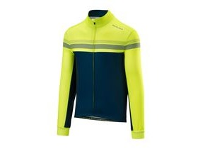 Altura Nightvision 4 Long Sleeve Jersey 2018: Hi-viz Yellow/blue