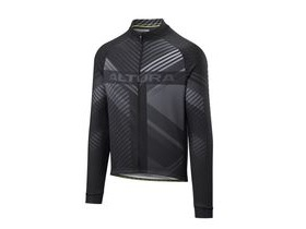 Altura Team Long Sleeve Jersey 2018: Black/white