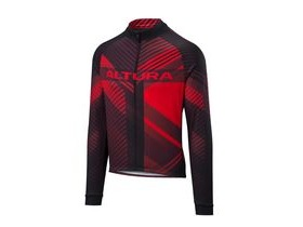 Altura Team Long Sleeve Jersey 2018: Red/black