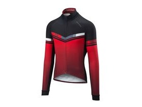 Altura Thermo Invader Long Sleeve Jersey 2018: Red/black