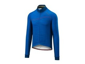 Altura Thermo Lines Long Sleeve Jersey 2018: Blue/blue