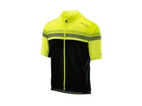 Altura Nightvision Short Sleeve Jersey 2018: Hi-viz Yellow/black