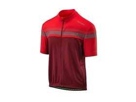 Altura Nightvision Short Sleeve Jersey 2018: Urban Red/burgundy