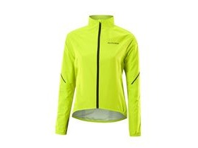 Altura Womens Flite 2 Waterproof Jacket 2017: Hi-viz Yellow