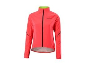 Altura Womens Flite 2 Waterproof Jacket 2017: Hi-viz Pink