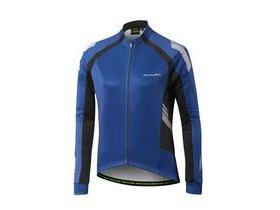 Altura Womens Nightvision 2 Commuter Long Sleeve Jersey 2017: Night Blue / Black