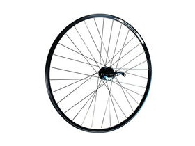 Wilkinson Wheels 29er Rear - Black Double Wall Mach 1 820 Disc Rim - Q/R Shimano Deore Hub 8/9/10 Speed, 135mm 32 Hole Black 29""