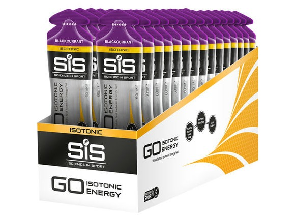 Science In Sport GO Isotonic Gel blackcurrant 60ml click to zoom image