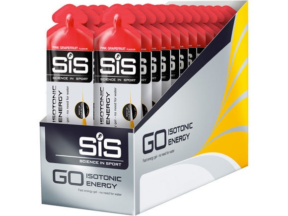 Science In Sport GO Isotonic Gel pink grapefruit 60ml click to zoom image