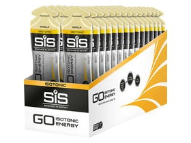 Science In Sport GO Isotonic Energy Gel - vanilla 60 ml tube