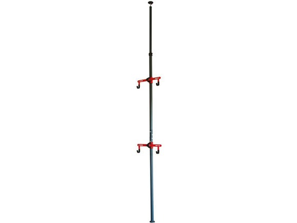 Gear Up Platinum Steel Floor-to-Ceiling rack click to zoom image