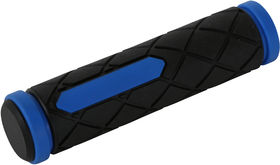 ETC MTB Dual Density Grips 125mm Blue/Black
