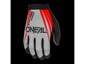 O'Neal AMX Blocker Grey/Red Gloves