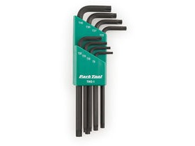 PARK TOOL TWS-1 L-Shaped Torx Compatible Wrench Set