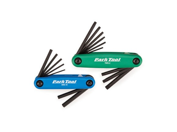 PARK TOOL FWS-2 Fold-up Wrench set click to zoom image