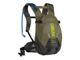 CAMELBAK Skyline LR 10 Low Rider Hydration Pack Burnt Olive/Lime Punch 3l/100oz