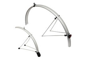 TORTEC Reflective Mudguards 26x1.6-2.1 Silver