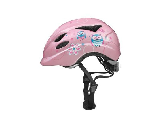 ABUS Anuky Childs Helmet 2016: Rose Owl click to zoom image