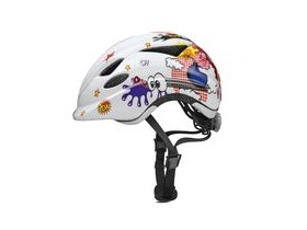 ABUS Anuky Childs Helmet 2016: White Comic