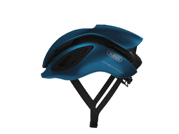 ABUS Gamechanger Road Aero Helmet 2018: Steel Blue click to zoom image