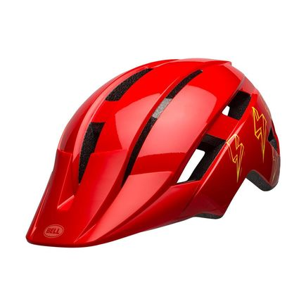 BELL Sidetrack Ii Child Helmet Bolts Gloss Red Unisize 47-54cm click to zoom image
