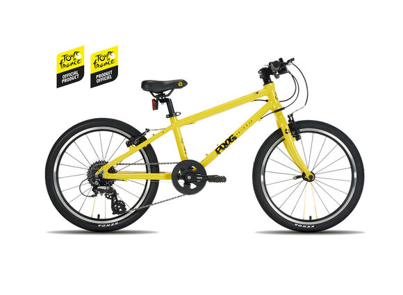 FROG BIKES Frog 55 TDF Yellow click to zoom image