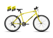 FROG BIKES Frog 78 TDF Yellow  click to zoom image