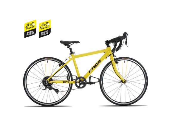 FROG BIKES Frog Road 67 TDF Yellow click to zoom image