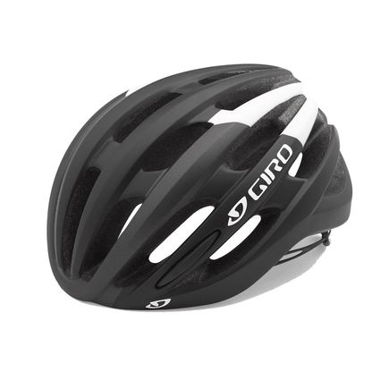 GIRO Foray Road Helmet Black/White click to zoom image