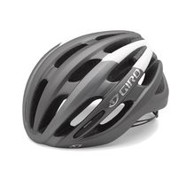 GIRO Foray Road Helmet Matt Titanium/White