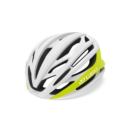 GIRO Syntax Road Helmet Matte Citron/White click to zoom image