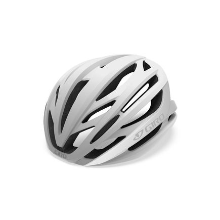 GIRO Syntax Road Helmet Matte White/Silver click to zoom image