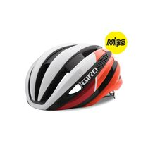GIRO Synthe Mips Road Helmet Matt White/Red