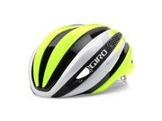 GIRO SYNTHE S 51-55CM WHITE/HI VIS YELLOW  click to zoom image