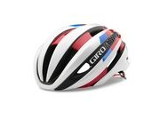 GIRO SYNTHE S 51-55CM WHITE/RED/BLUE  click to zoom image