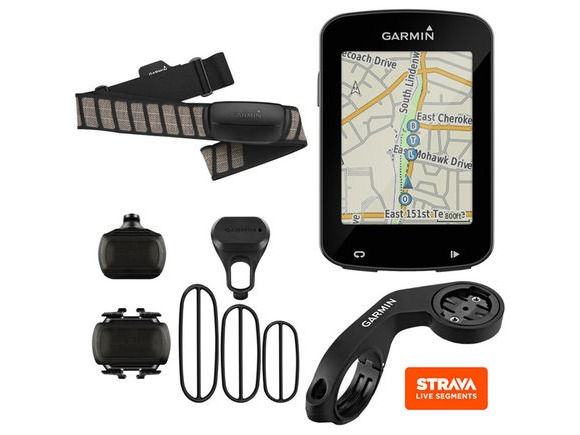 GARMIN Edge 820 GPS- enabled performance bundle - speed/cadence and HRM click to zoom image