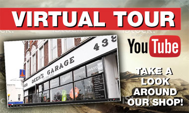 Virtual Tour: Take a look round Deens Garage on YouTube